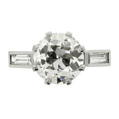 RENE BOIVIN Diamond Engagement Ring