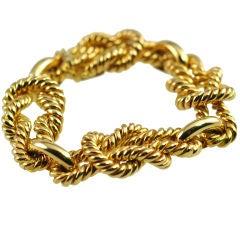 Chunky rope twist Bracelet