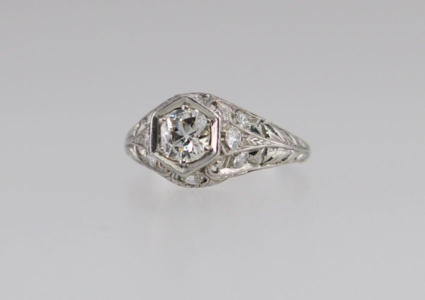 beautiful antique engagement ring for sale at 1stdibs