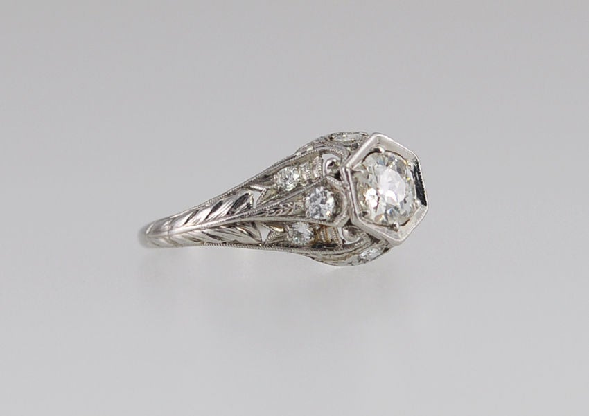 beautiful antique engagement ring at 1stdibs