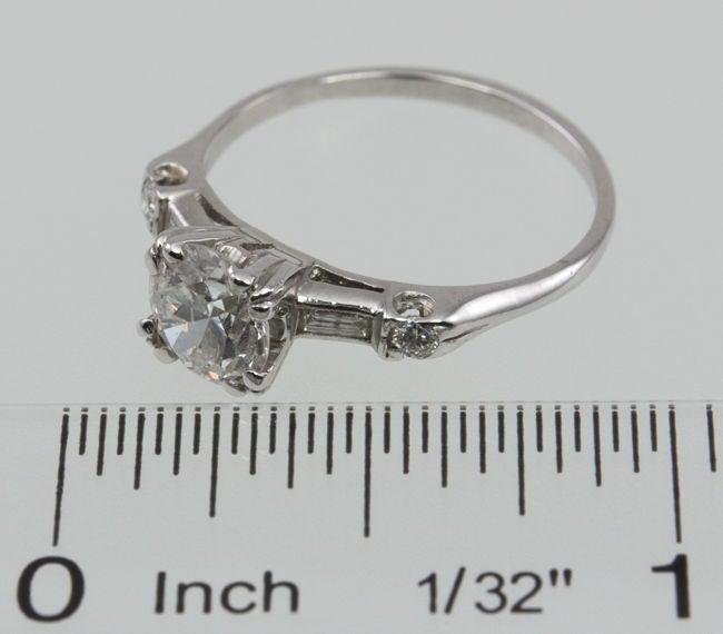 Estate Diamond  Engagement Ring 6
