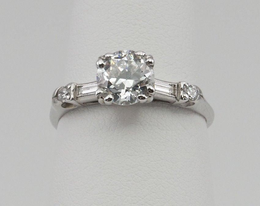 Estate Diamond  Engagement Ring 2