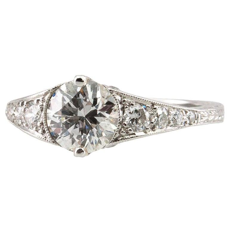 Simply Elegant Engagement Ring at 1stdibs
