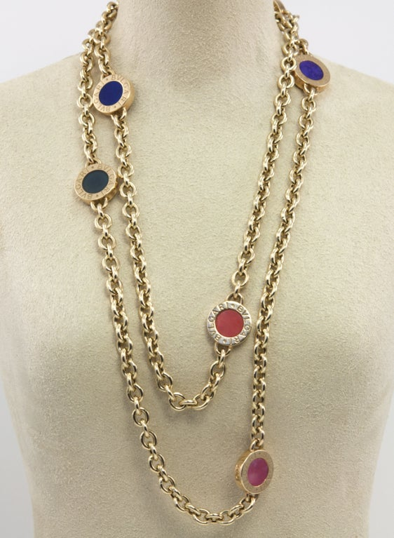 BULGARI Long Chain Necklace 6