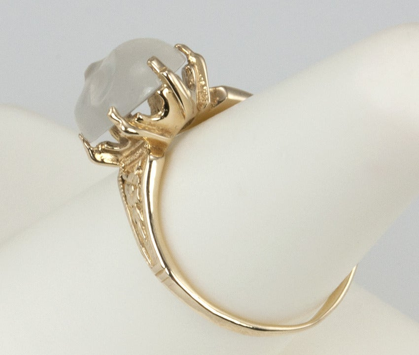 Carved Man In The Moonstone Ring 7