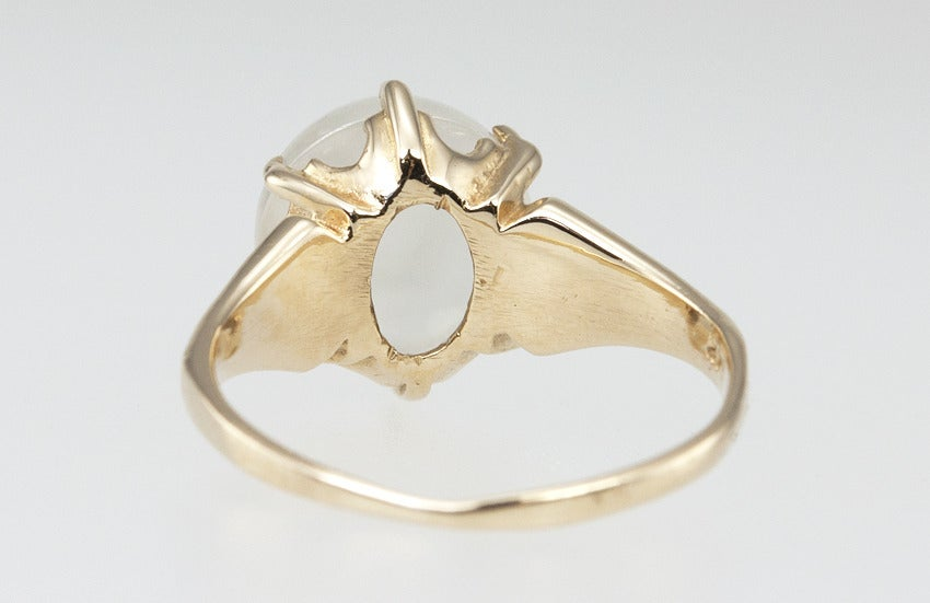 Carved Man In The Moonstone Ring 8