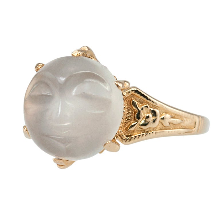 Carved Man In The Moonstone Ring 1
