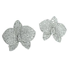 Cartier Caresse d'Orchidees Diamond Earrings