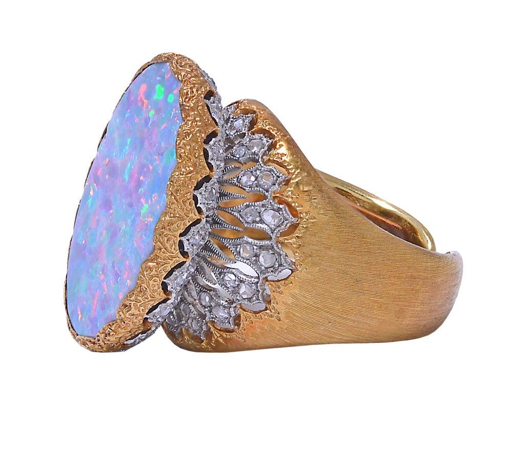 BUCCELATTI Opal and Diamond Ring image 2