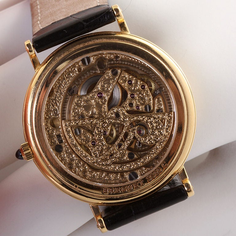 Breguet yellow gold Classique Complications Collection Wristwatch, 1990s In Excellent Condition In New York, NY