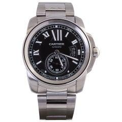 CARTIER Calibre de Cartier Automatic Stainless Steel Watch
