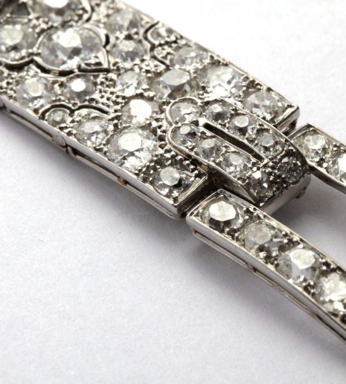 CARTIER PARIS Art Deco Diamond Bracelet 4