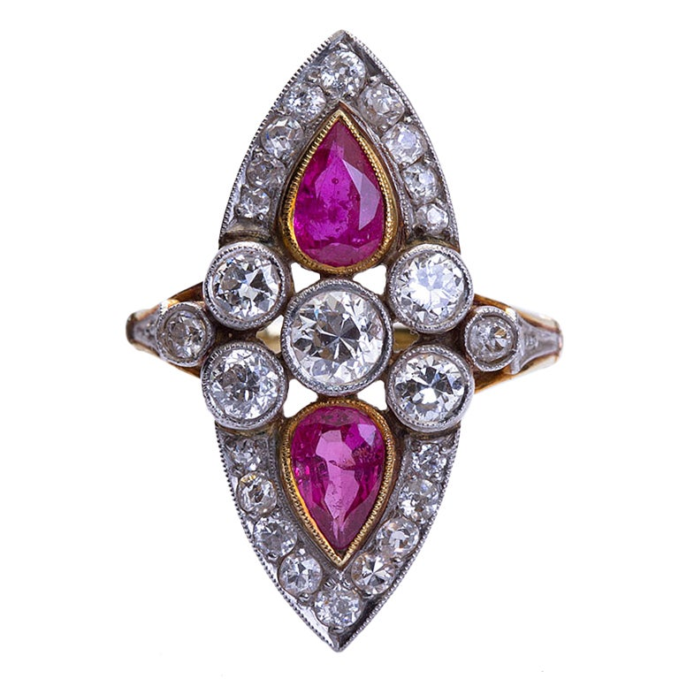 antique and ruby ring at 1stdibs