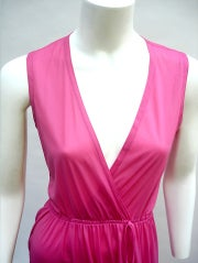 70'S JOHN KLOSS HOT PINK RUFFLE SET thumbnail 4