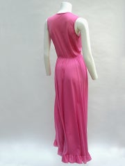 70'S JOHN KLOSS HOT PINK RUFFLE SET thumbnail 6