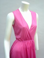 70'S JOHN KLOSS HOT PINK RUFFLE SET thumbnail 8