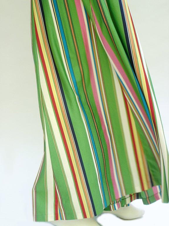 60S CLOVIS RUFFIN CABANA STRIPED MAXI KAFTAN image 4