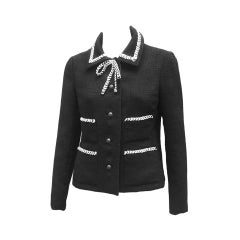 70S YVES SAINT LAURENT CHIC LITTLE WOOL JACKET
