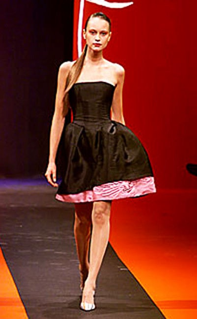 Circa 2000 Christian Lacroix Runway 2-in-1 Detachable Pouf Dress Gown - Unworn 4