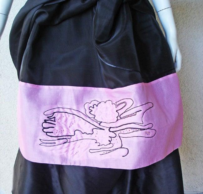 Circa 2000 Christian Lacroix Runway 2-in-1 Detachable Pouf Dress Gown - Unworn 6