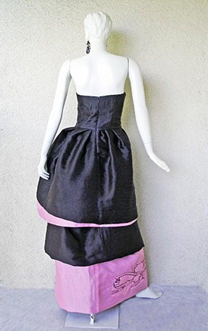 Circa 2000 Christian Lacroix Runway 2-in-1 Detachable Pouf Dress Gown - Unworn 8