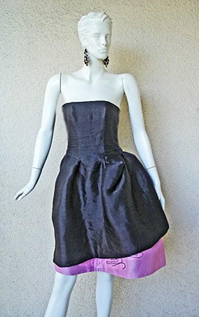 Circa 2000 Christian Lacroix Runway 2-in-1 Detachable Pouf Dress Gown - Unworn 9