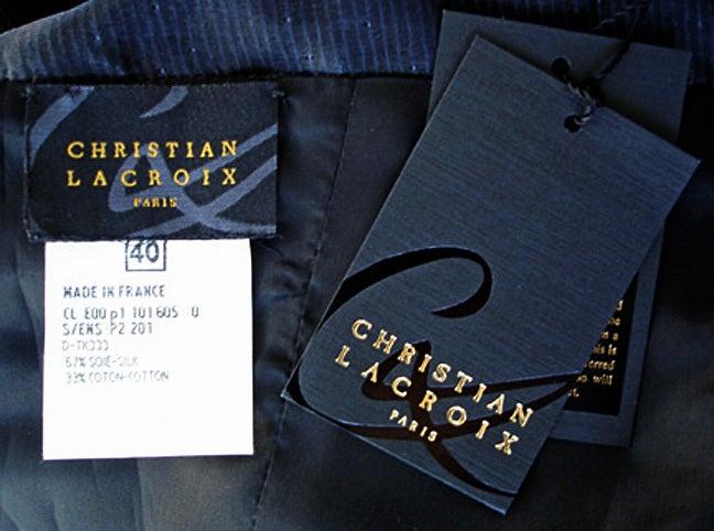 Circa 2000 Christian Lacroix Runway 2-in-1 Detachable Pouf Dress Gown - Unworn 10