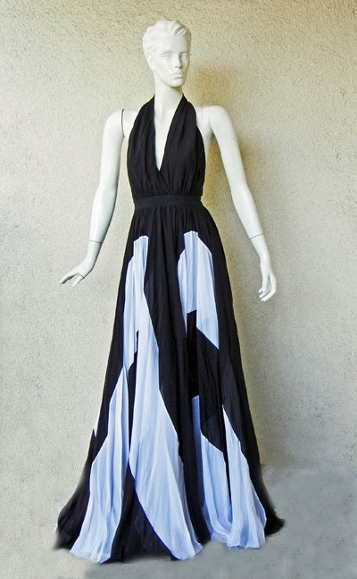 Women's Naomi's Issa Over-the-top Halter Gown For Sale