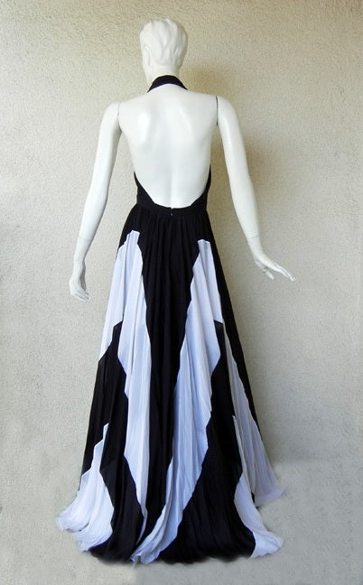 Naomi's Issa Over-the-top Halter Gown For Sale 2