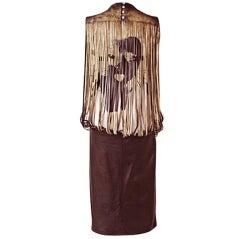 ALEXANDER MCQUEEN 2000 VICTORIAN COLLECTION WEARABLE ART DRESS