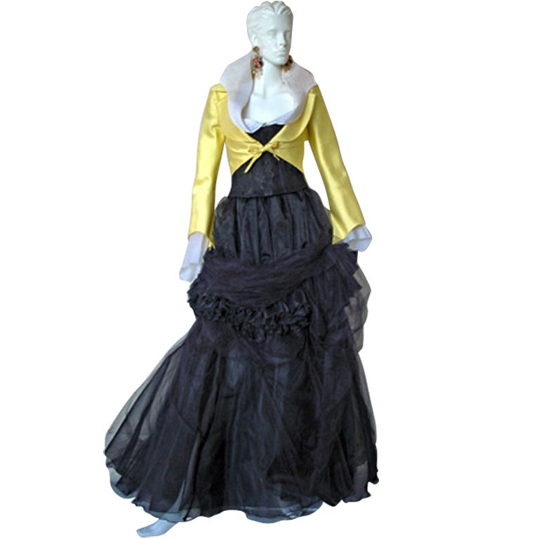 1999 Christian Lacroix Haute Couture  Runway Ensemble - Collectors 1