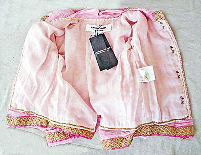 Comme des Garcons Junya Watanabe Chanel Inspired Jacket    NWT  Collectible 3