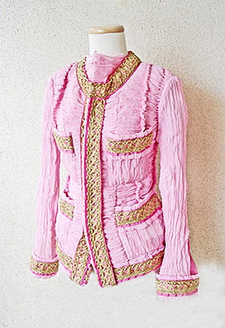 Comme des Garcons Junya Watanabe Chanel Inspired Jacket    NWT  Collectible For Sale 1