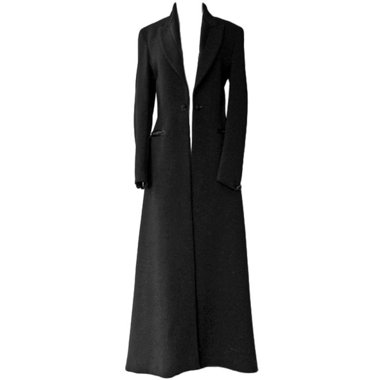 Chic Jean Paul Gaultier Vintage Full Length Tuxedo Coat At -2169