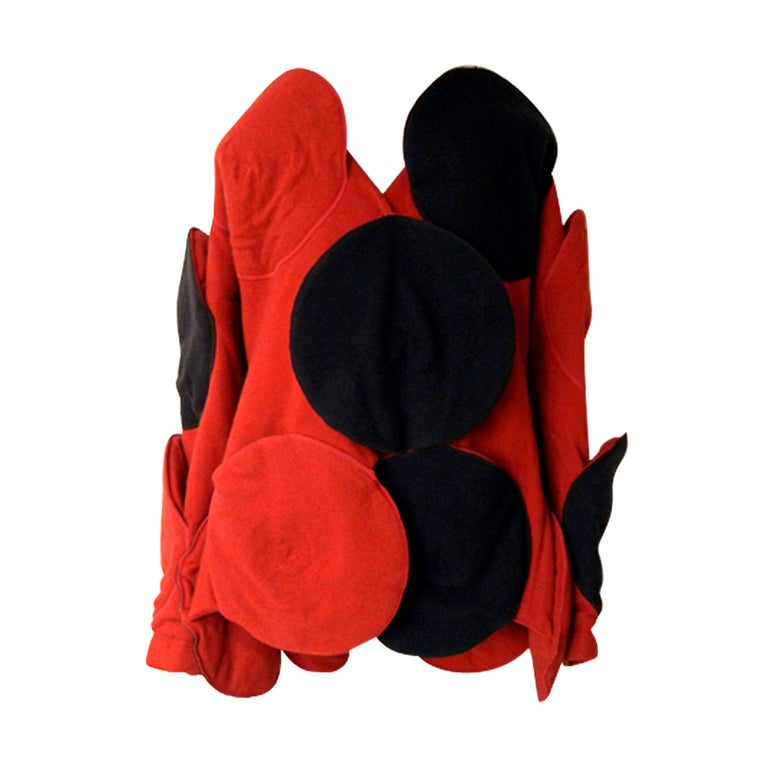 Rare Issey Miyake Wearable Met Museum Art Beret Coat for Collectors, Museums