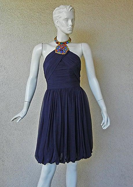 Purple Christian Lacroix Patou Haute Couture