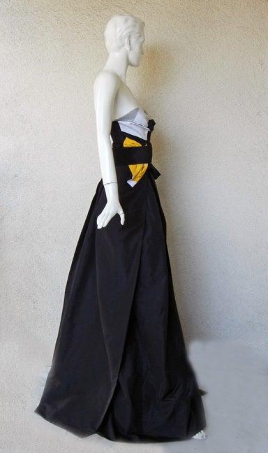 Featured in Vogue Gucci Origami Gown w/Horsebit Belt   5