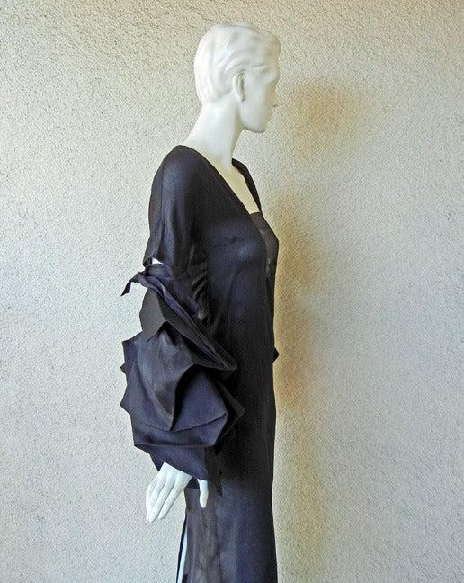 Women's Giselle's 2002 YSL Tom Ford Elegantly Erotic Cocktail Dress For Sale