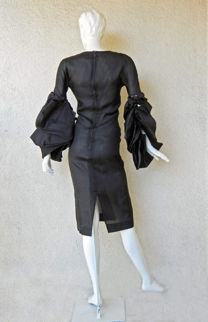 Giselle's 2002 YSL Tom Ford Elegantly Erotic Cocktail Dress For Sale 1