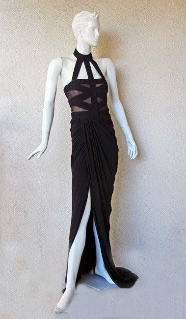 Alexander McQueen Bondage Gown   2