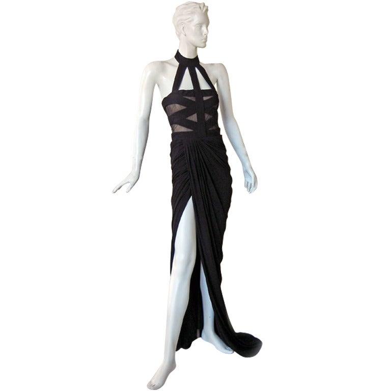 Alexander McQueen Bondage Gown