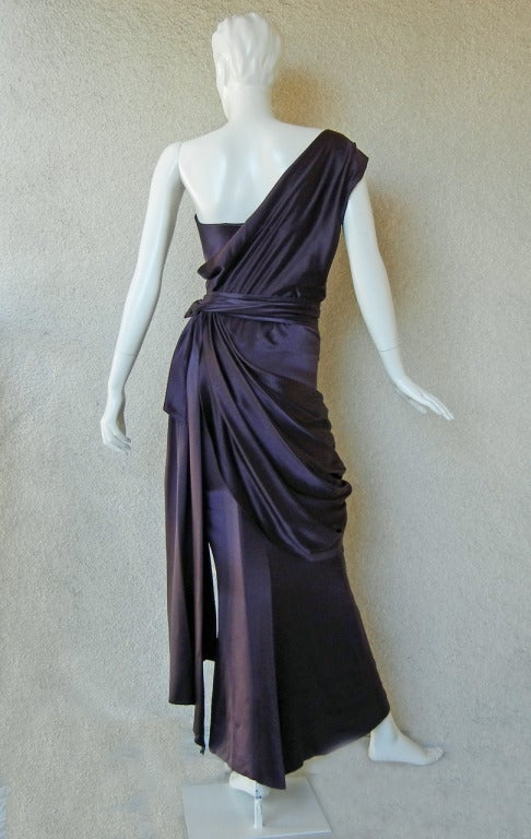 Yves Saint Laurent Haute Couture Fashion Runway Gown As Seen on Catwalk 4