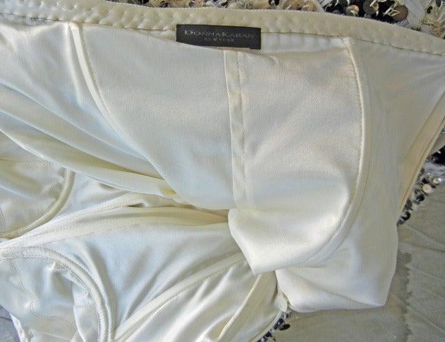 Rare Donna Karan Chanelesque Beaded Boucle Eyelash Dress 5
