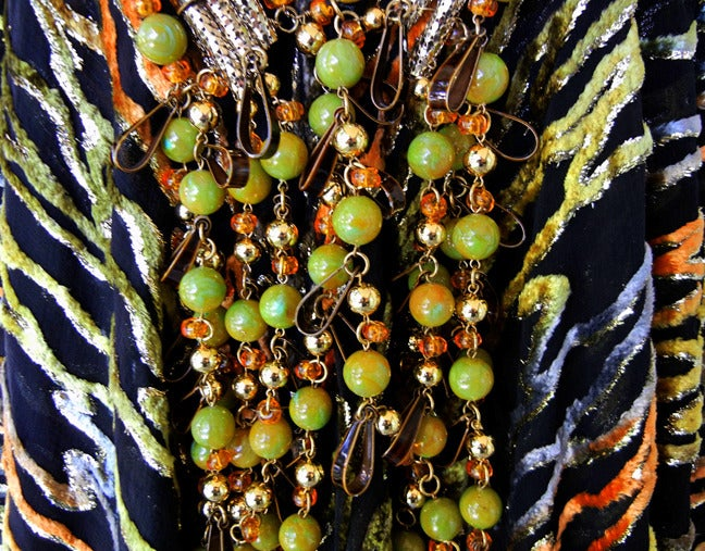One Of A Kind Haute Couture Paco Rabanne 70 S Jeweled Silk