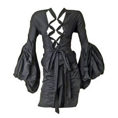 Yves Saint Laurent by Tom Ford Iconic Lace up Pirate Blouse
