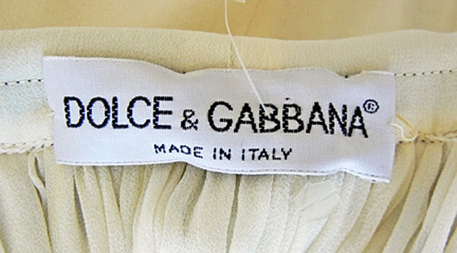 Early 1993-1994 F/W Museum Dolce & Gabbana Grunge Look Dress 3