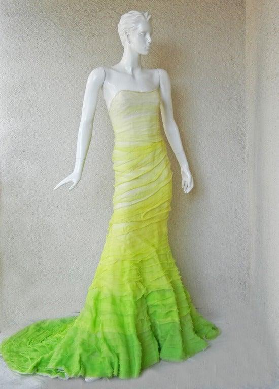 Rare Nina Ricci L Air Du Temps Fantasy Gown And Jacket