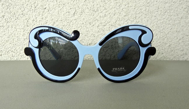 PRADA SOLD OUT BUTTERFLY SUNGLASSES image 3