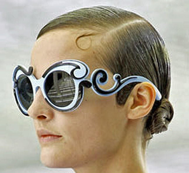 PRADA SOLD OUT BUTTERFLY SUNGLASSES image 7