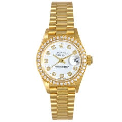 Rolex Lady President Diamond Watch 79178
